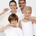 family-brushing-teeth